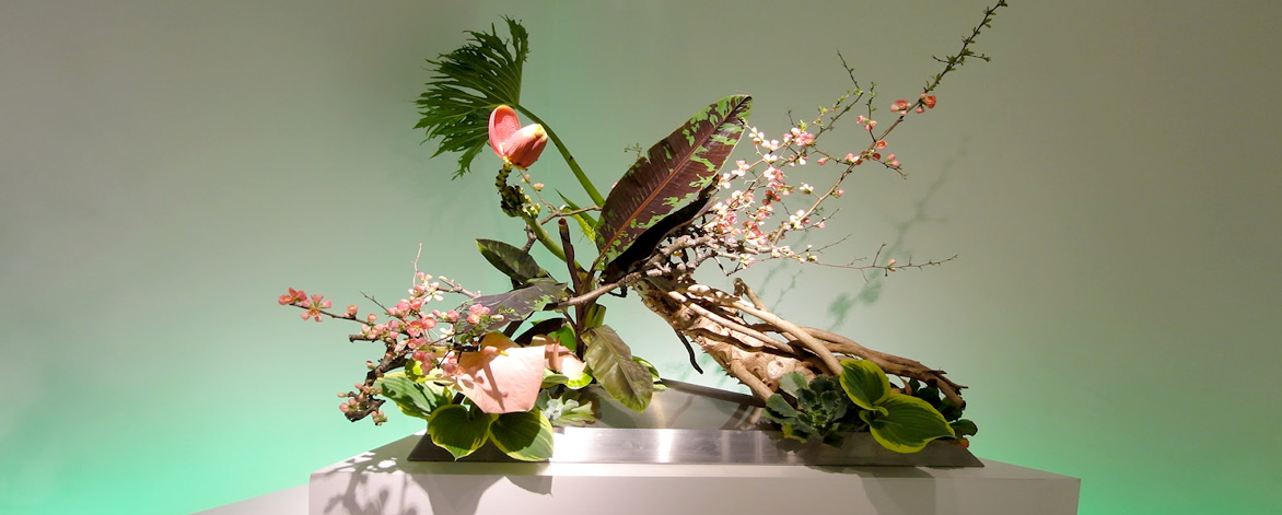 Free Workshops of Ikebana, Japanese Flower Arrangement at the Coral Rock Auditorium.