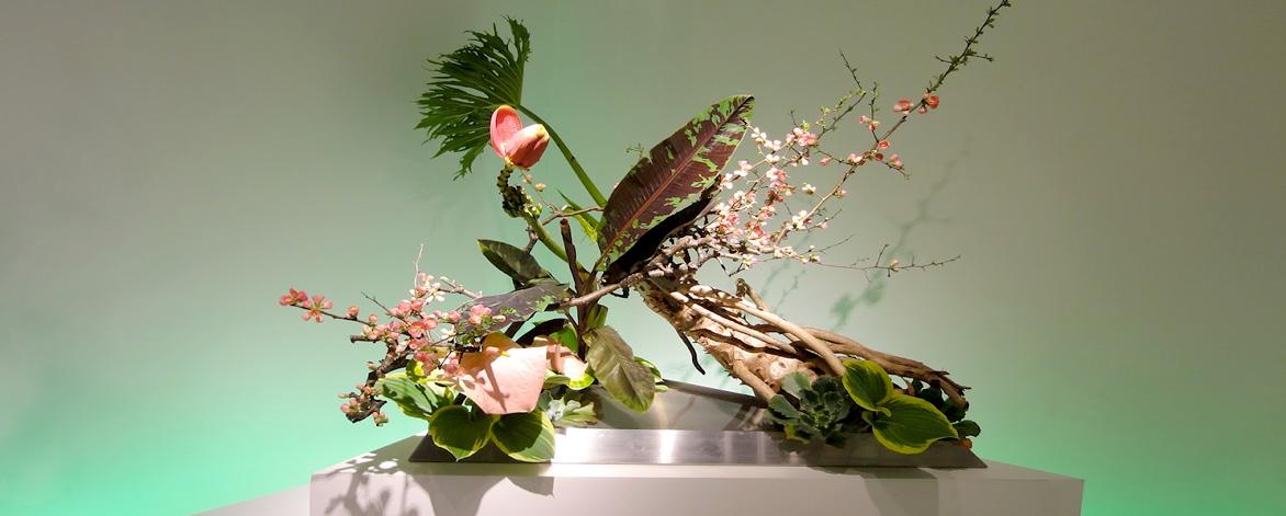 Free Workshops of Ikebana, Japanese Flower Arrangement at the Coral Rock Auditorium.